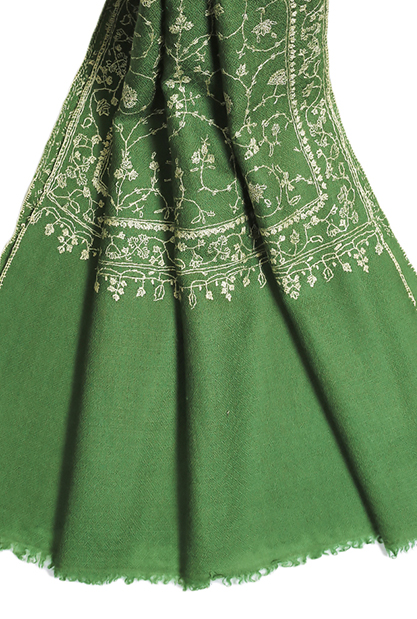 Embroidered Pashmina Scarf